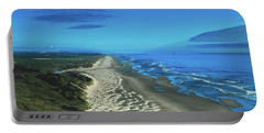 Sand Dunes Along The Oregon Coastline Portable Battery Charger
