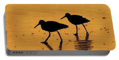 Sandpipers - At - Sunrise Portable Battery Charger