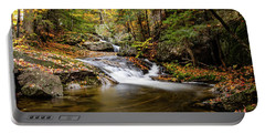 Sandwich Notch Road Waterfall New Hampshire Portable Battery Charger