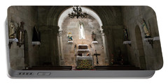 Santa Maria De Xavina Church - Interior Portable Battery Charger