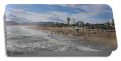 Santa Monica Beach , Santa Monica, California Portable Battery Charger