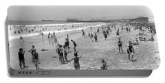 Santa Monica Beach Circa 1920 Portable Battery Charger