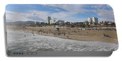 Santa Monica Beach, Santa Monica, California Portable Battery Charger