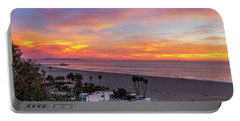 Santa Monica Pier Sunset - 11.1.18  Portable Battery Charger