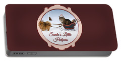 Santa's Little Helpers Portable Battery Charger
