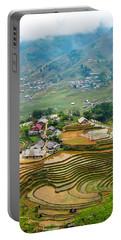 Sapa, Vietnam Landscape Portable Battery Charger