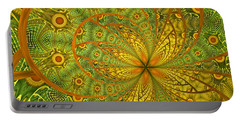 Portable Battery Charger featuring the digital art Sarah by Missy Gainer