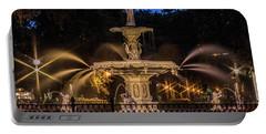 Savannah Fountain Portable Battery Charger