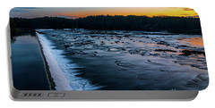 Savannah Rapids Sunrise - Augusta Ga Portable Battery Charger