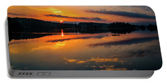 Savannah River Sunrise - Augusta Ga 2 Portable Battery Charger
