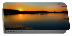 Savannah River Sunrise - Augusta Ga Portable Battery Charger