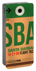 Sba Santa Barbara Luggage Tag I Portable Battery Charger