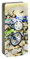 Scaled Mountain Adventure Portable Battery Charger