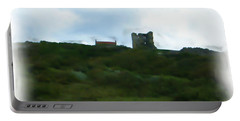 Scarborough Castle Painting Portable Battery Charger
