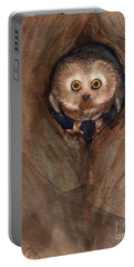 Scardy Owl Portable Battery Charger