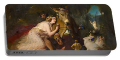 Scene From A Midsummer Night's Dream. Titania And Bottom - Digital Remastered Edition Portable Battery Charger