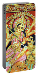 Scenes From The Ramayana Portable Battery Charger