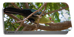 Schalow's Turaco Portable Battery Charger