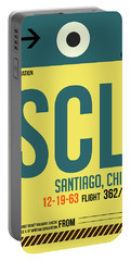 Scl Santiago Luggage Tag II Portable Battery Charger