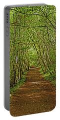 Scotland. Killiecrankie. Path Through The Trees. Portable Battery Charger