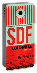 Sdf Louisville Luggage Tag I Portable Battery Charger
