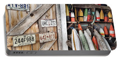 Sea Shack Plates And Buoys Portable Battery Charger