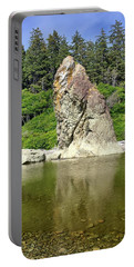 Sea Stack At Ruby Beach  Portable Battery Charger