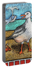 Seagull And Friends Portable Battery Charger