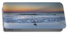 Seagull On The Beach Portable Battery Charger