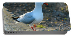 Seagull On The Breakwall Portable Battery Charger