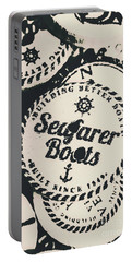 Seaside Sailors Badge Portable Battery Charger