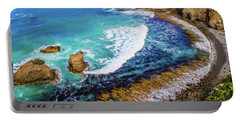 Roaring Bay At Nugget Point Portable Battery Charger