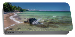 Secluded Beach Portable Battery Charger