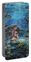 Secret Garden In The Sea Portable Battery Charger