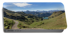 Portable Battery Charger featuring the photograph Seealpsee, Allgaeu Alps by Andreas Levi