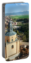 Segovia From The Cathedral - Spain Portable Battery Charger