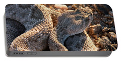 Portable Battery Charger featuring the photograph Serpent Of The Southwest by Judy Kennedy
