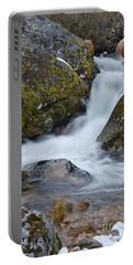 Serra Da Estrela Waterfalls. Portugal Portable Battery Charger