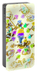 Served Ice-cream Cold Portable Battery Charger