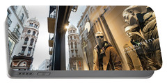 Portable Battery Charger featuring the photograph Sevilla Streets by Alex Lapidus