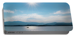 Portable Battery Charger featuring the photograph Shadow Mountain Lake by Nicole Lloyd