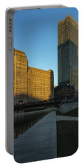 Shadows Of The City Portable Battery Charger