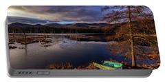 Shaw Pond Sunrise - Landscape Portable Battery Charger