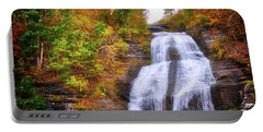 Portable Battery Charger featuring the photograph She-qua-ga - Montour Falls - Finger Lakes, New York by Lynn Bauer