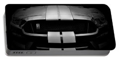 Shelby Mustang Gt350 - American Muscle Car - Ford Mustang Portable Battery Charger