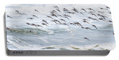 Shorebirds Fly By Portable Battery Charger