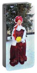 Shrovetide Doll Maslenitsa Portable Battery Charger