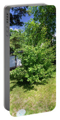 Shrub In The Garden Portable Battery Charger