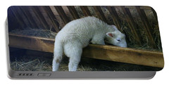 Shy Little Lamb Portable Battery Charger