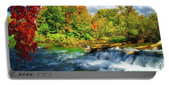 Portable Battery Charger featuring the photograph Sidelined Beauty by Lynn Bauer